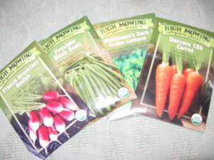 High Mowing seed packs