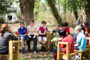"""Quaker Education – Outdoor Classroom"""